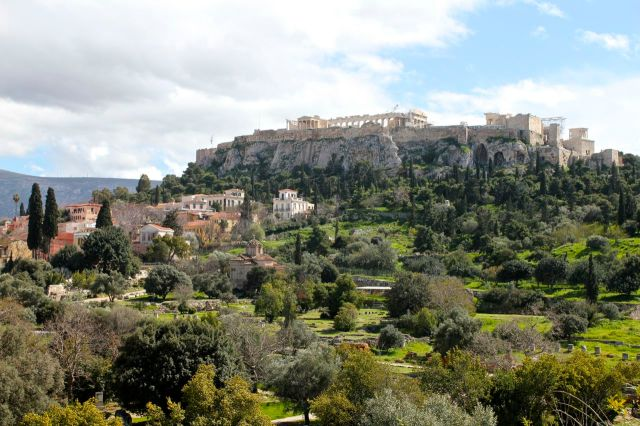 Acropolis from the Ancient Agora