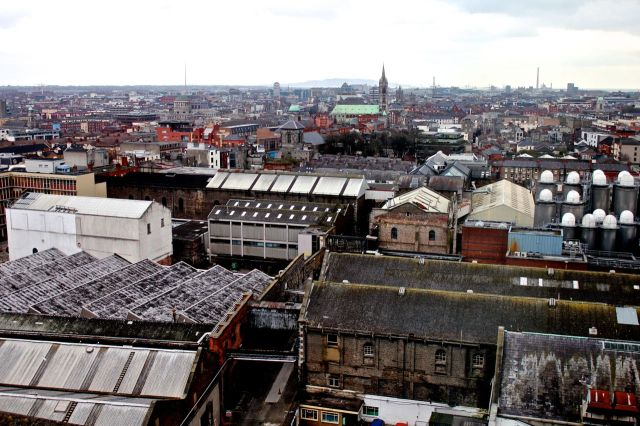 The top of Dublin